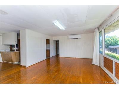 Waipahu Single Family Home In Escrow Showing: 94-1145 Kahuahale Street