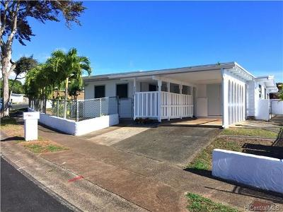Pearl City Single Family Home For Sale: 2283 Anapanapa Street