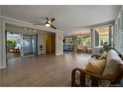 Aiea Single Family Home For Sale: 99-639 Halawa Drive