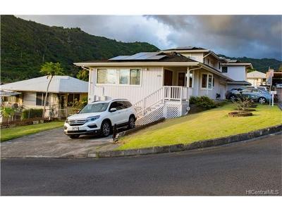 Honolulu Single Family Home For Sale: 1776 Akone Place