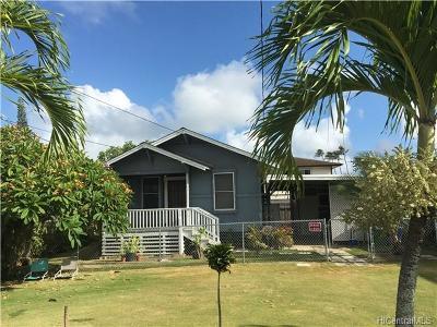 Single Family Home For Sale: 310 Manono Street