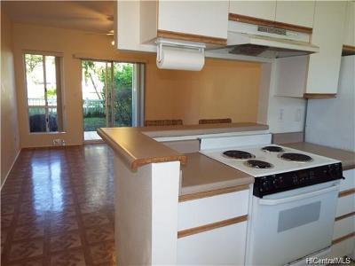 Mililani Condo/Townhouse For Sale: 95-919 Wikao Street #F103
