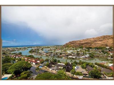 Honolulu Condo/Townhouse For Sale: 6710 Hawaii Kai Drive #1610