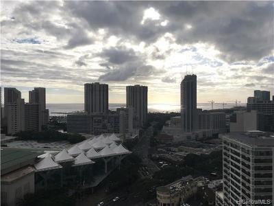 Honolulu Condo/Townhouse For Sale: 1750 Kalakaua Avenue #2501