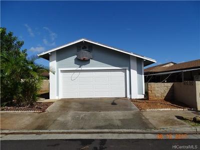 Waipahu Single Family Home In Escrow Showing: 94-607 Palai Street