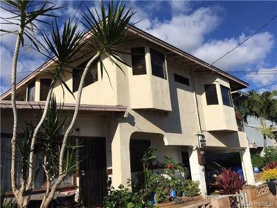 Waipahu Single Family Home For Sale: 94-542 Awamoi Street