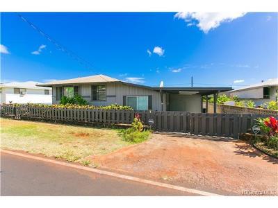 Single Family Home For Sale: 1518 Nanakai Street