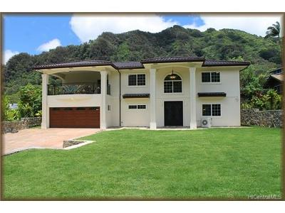 Honolulu Single Family Home For Sale: 3916 Old Pali Road