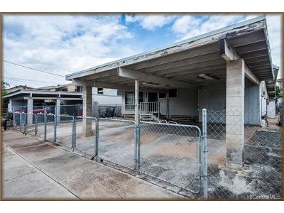 Waipahu Single Family Home In Escrow Showing: 94-052 Poailani Circle