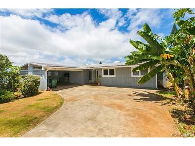 Aiea Single Family Home For Sale: 98-1056 Kaamilo Street