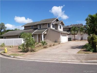 Ewa Beach Single Family Home For Sale: 91-1059 Kaloi Street