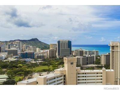 Honolulu Condo/Townhouse For Sale: 411 Hobron Lane #3109