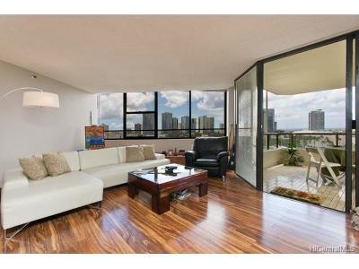 Honolulu Condo/Townhouse For Sale: 1221 Victoria Street #1005