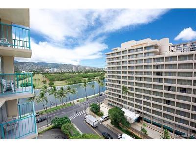 Honolulu Condo/Townhouse For Sale: 444 Kanekapolei Street #911