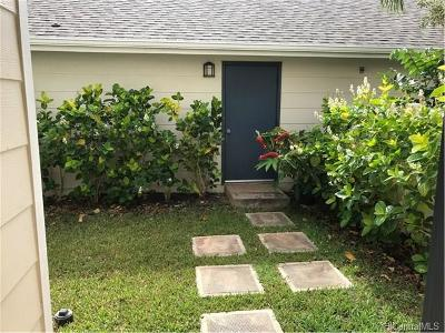 Ewa Beach Rental For Rent: 91-1040 Kaileolea Drive #DD1