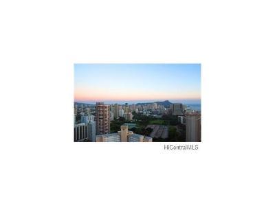 Hawaii County, Honolulu County Condo/Townhouse For Sale: 343 Hobron Lane #1601