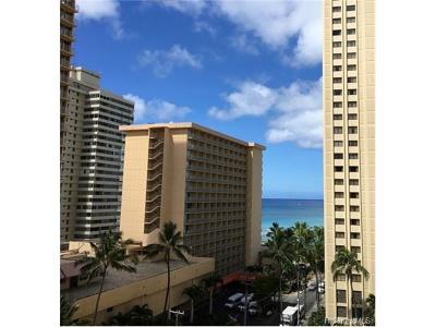 Honolulu, Kailua, Waimanalo, Honolulu, Kaneohe Condo/Townhouse For Sale: 2465 Kuhio Avenue #1110