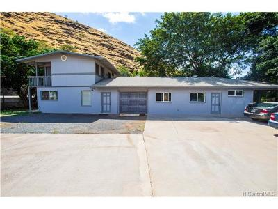 Waianae Single Family Home For Sale: 85-410 Waianae Valley Road