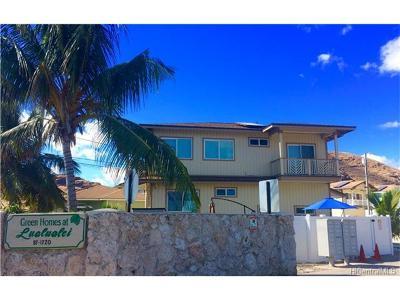 Waianae HI Single Family Home For Sale: $849,000