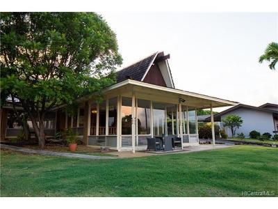 Honolulu Single Family Home For Sale: 3942 Kaualio Place