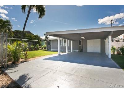 Waianae Single Family Home For Sale: 84-133 Makaha Valley Road