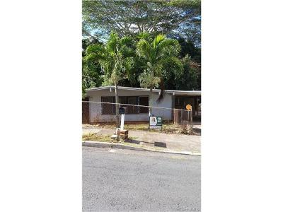 Pearl City Single Family Home In Escrow Showing: 2271 Auhuhu Street