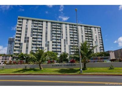 Honolulu Condo/Townhouse For Sale: 5210 Likini Street #704