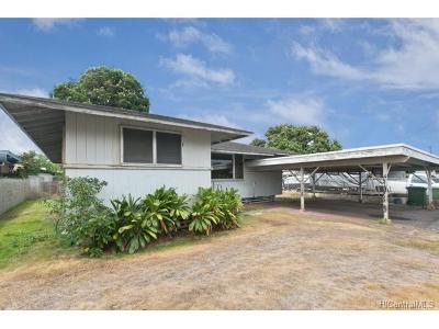Waipahu Single Family Home For Sale: 94-963 Awamoku Place