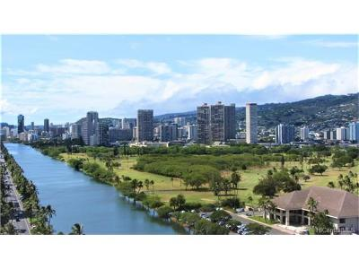 Honolulu Condo/Townhouse For Sale: 2611 Ala Wai Boulevard #2107