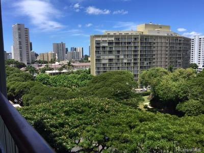 Honolulu Rental For Rent: 1521 Punahou Street #901