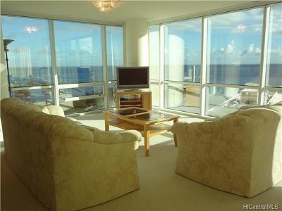 Honolulu Rental For Rent: 88 Piikoi Street #3909