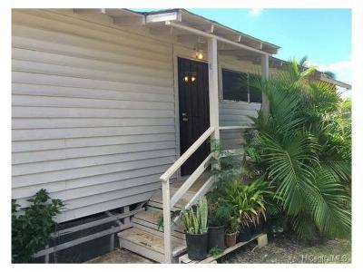 Waianae Rental For Rent: 84-917 Hanalei Street
