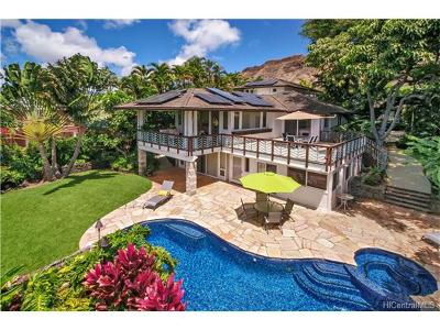Honolulu HI Single Family Home For Sale: $4,200,000