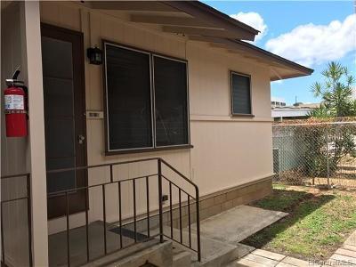 Honolulu Rental For Rent: 1231 Alexander Street #D