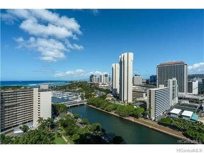 Honolulu Rental For Rent: 1551 Ala Wai Boulevard #1904