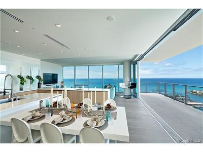 Honolulu County, Hawaii County Condo/Townhouse For Sale: 1118 Ala Moana Boulevard #3001