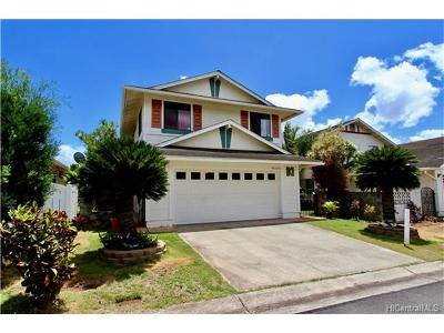Waipahu Single Family Home For Sale: 94-1050 Kaloli Loop