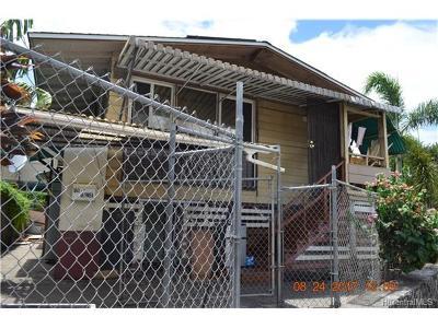 Honolulu Single Family Home For Sale: 1041 Olomea Street