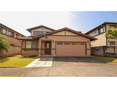 Mililani Single Family Home For Sale: 95-1059 Mahea Street