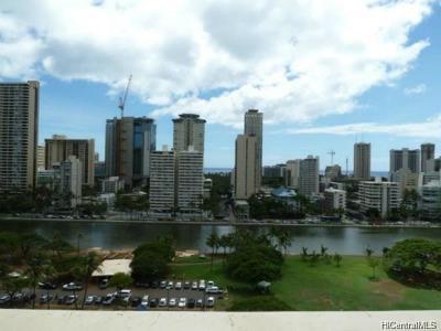 Honolulu Condo/Townhouse For Sale: 500 University Avenue #1606