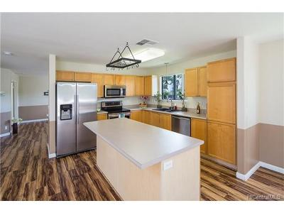 Waipahu Single Family Home In Escrow Showing: 94-1067 Kaloli Loop