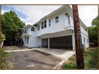 Single Family Home For Sale: 2722 E Manoa Road