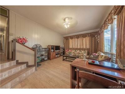 Waipahu Single Family Home In Escrow Showing: 94-232 Kahuanani Street