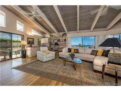 Honolulu HI Single Family Home In Escrow Showing: $1,899,500