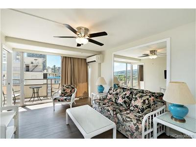Honolulu Condo/Townhouse In Escrow Showing: 445 Kaiolu Street #1113