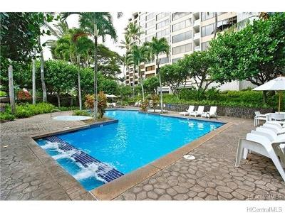 Honolulu County Condo/Townhouse In Escrow Showing: 555 Hahaione Street #3D