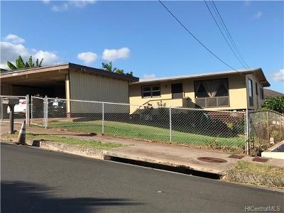 kapolei Single Family Home For Sale: 92-635 Aahualii Street