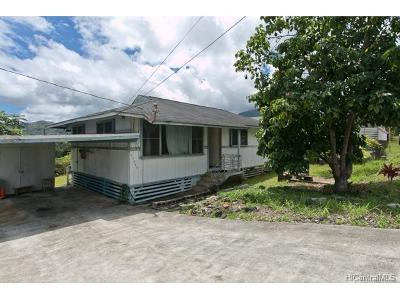 Kaneohe Single Family Home For Sale: 45-544 Paleka Road