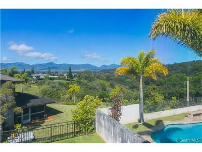Mililani Single Family Home For Sale