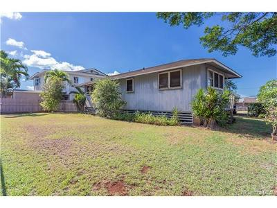 Pearl City Single Family Home In Escrow Showing: 1207 Waimano Home Road